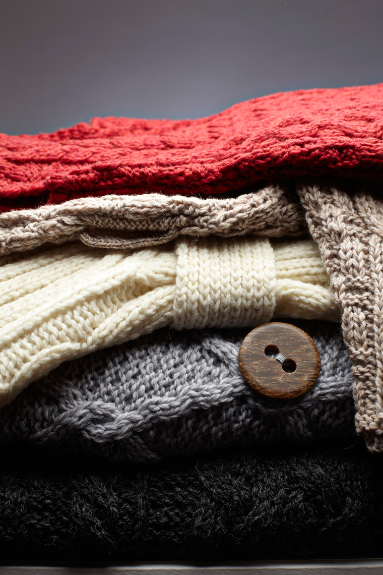 Brendan Ryan Photo - Knitwear Stack