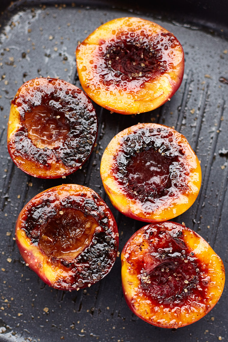 Brendan Ryan Photo - Grilled Peaches