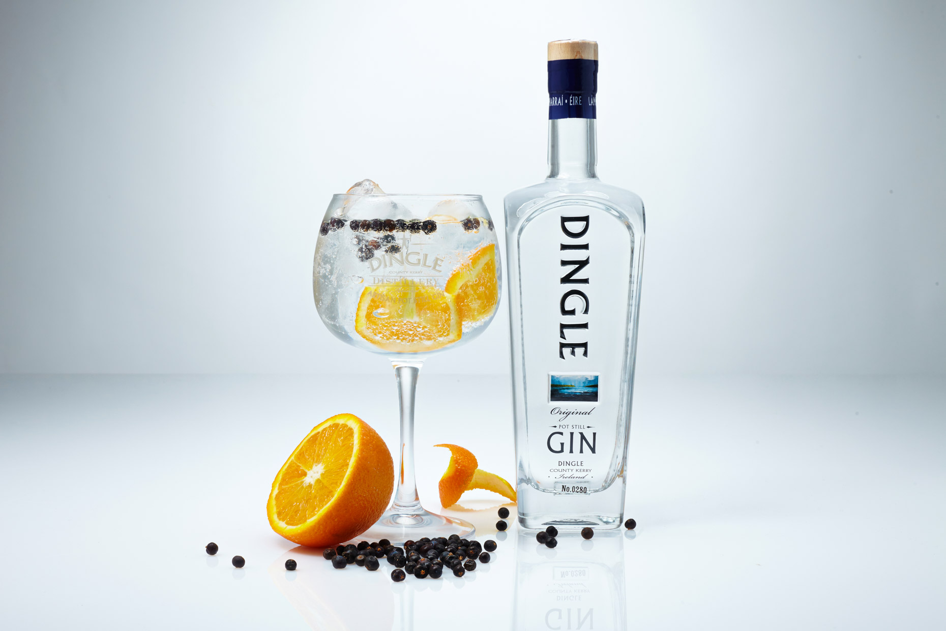 Brendan Ryan Photo - Dingle Gin with Orange and Juniper
